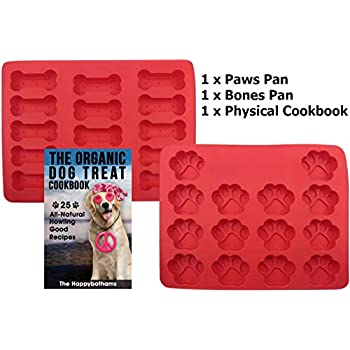 Amazon.com : Dog Paw and Bone Mold and Recipe Gift Set