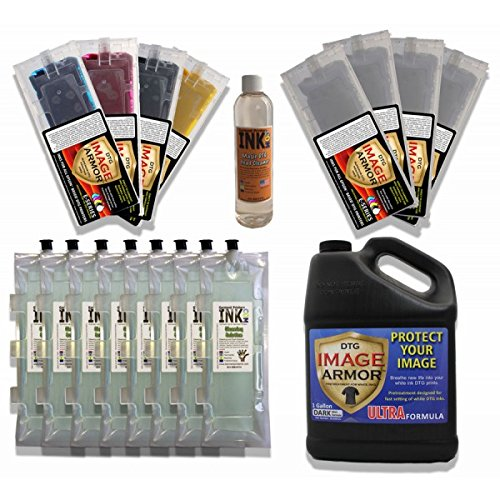 Anajet Sprint Image Armor Ink Cartridge Change-over Kit by Garment Printer Ink