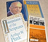img - for 4 BOOK Special: Life of Robert Murray M'Cheyne, Interpretation of the Scriptures, Early Tozer: A Word in Season AND In Pursuit of God book / textbook / text book