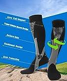 Moon Wood Support Socks for Women Men Knee High