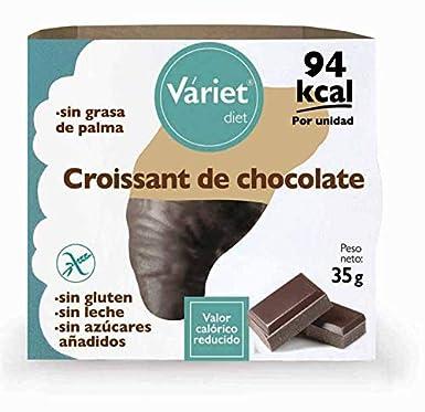 Croissant de CHOCOLATE LIGHT VÁRIET. Sin gluten, sin leche ...