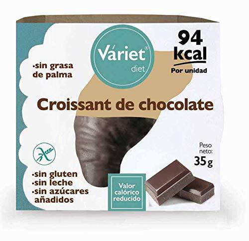Croissant de CHOCOLATE LIGHT VÁRIET. Sin gluten, sin leche, sin grasa de palma. 35 g: Amazon.es: Alimentación y bebidas