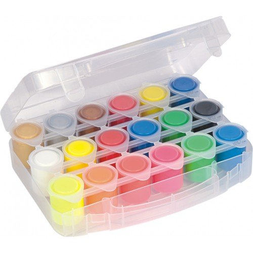 (Primo® 18 Color Poster Paints in Carrying Case)