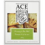 ACE Bakery Premium Crackers, Rosemary & Sea Salt Large Crisps, 180g