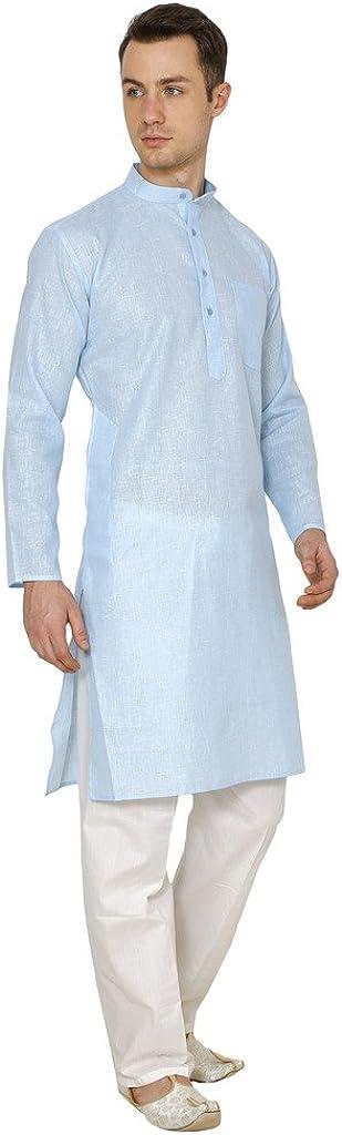 Royal Kurta Mens Cotton Kurta Pyjama Set