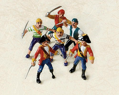 Plastic Pirate - Pirate Figures 3 Inches Bulk (Pack of 24)