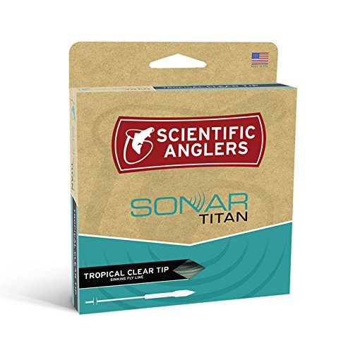 Intermediate Running Line (Scientific Anglers Sonar Tropical Titan Taper Clear Tip Fly Line - GRASS/SKY BLUE WF8F/S)
