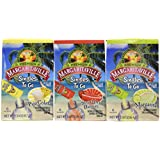 Margaritaville Singles to Go Drink Mix Ultimate Summer Variety Party Bundle - Margarita, Pina Colada & Strawberry Daiquiri - 3 x 6 Pack Boxes (18 - 2 Serving Packets Total)