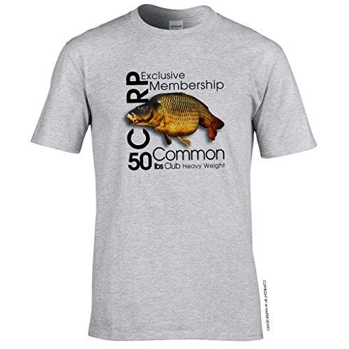 manga Dewey Napier corta Gris de 360 Camiseta para hombre FTpxA