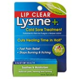 Lip Clear Lysine+ Cold Sore Treatment 0.25 oz (Pack of 3)