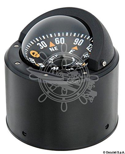 Osculati Rivieraボートマリンコンパス3 80 mmブラックフラットローズwith Binnacle B01DPVP794