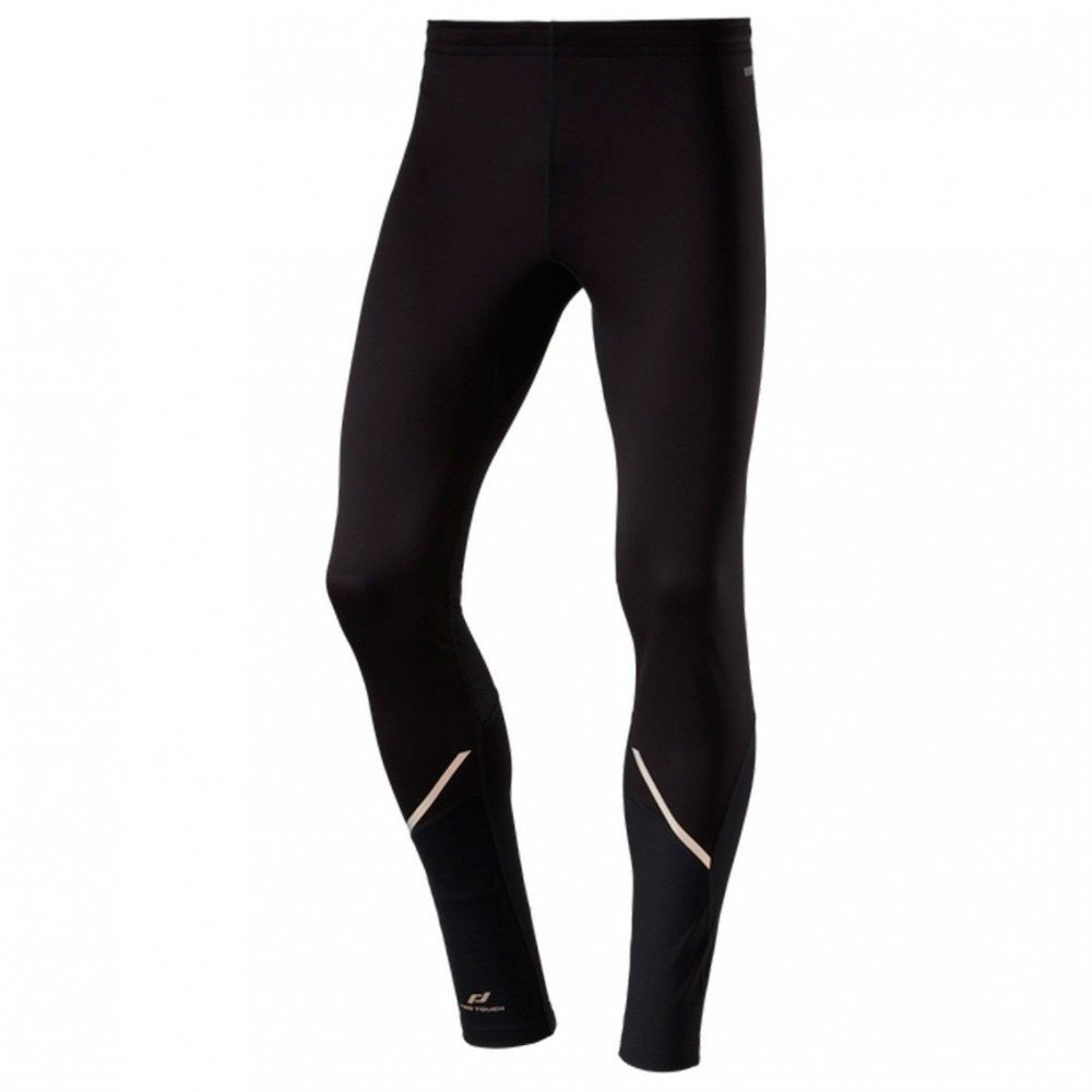 PRO TOUCH Herren-Runninghose Tight lang Windprotection Alonso, schwarz,S