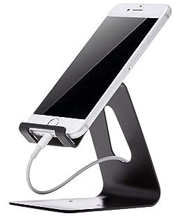 AmazonBasics - Supporto per cellulare, per iPhone e dispositivi Android   Nero