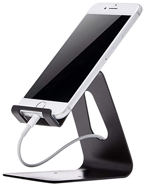 Superb Amazonbasics Cell Phone Desk Stand For Iphone And Android Black Download Free Architecture Designs Meptaeticmadebymaigaardcom