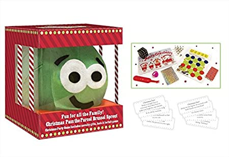 Christmas Family Game Pass The Parcel Sprout Party Game With 8 Gifts