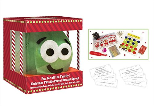 Christmas Family Game Pass The Parcel Sprout Party Game with 8 Gifts rsw