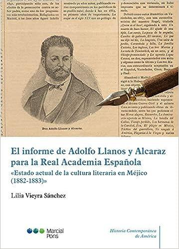 El informe de Adolfo Llanos y Alcaraz para la Real Academia ...