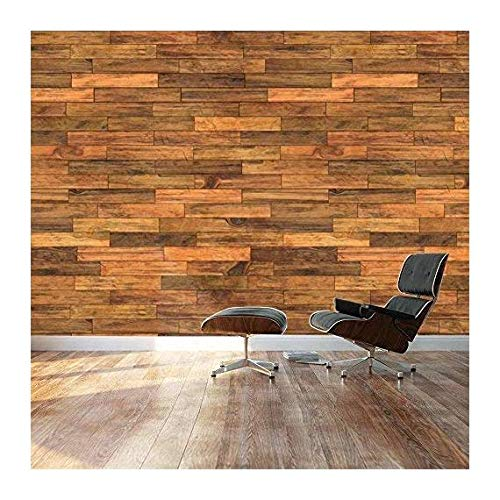 Large Wall Mural Seamless Wood Floor Pattern Vinyl Wallpaper Removable Decorating