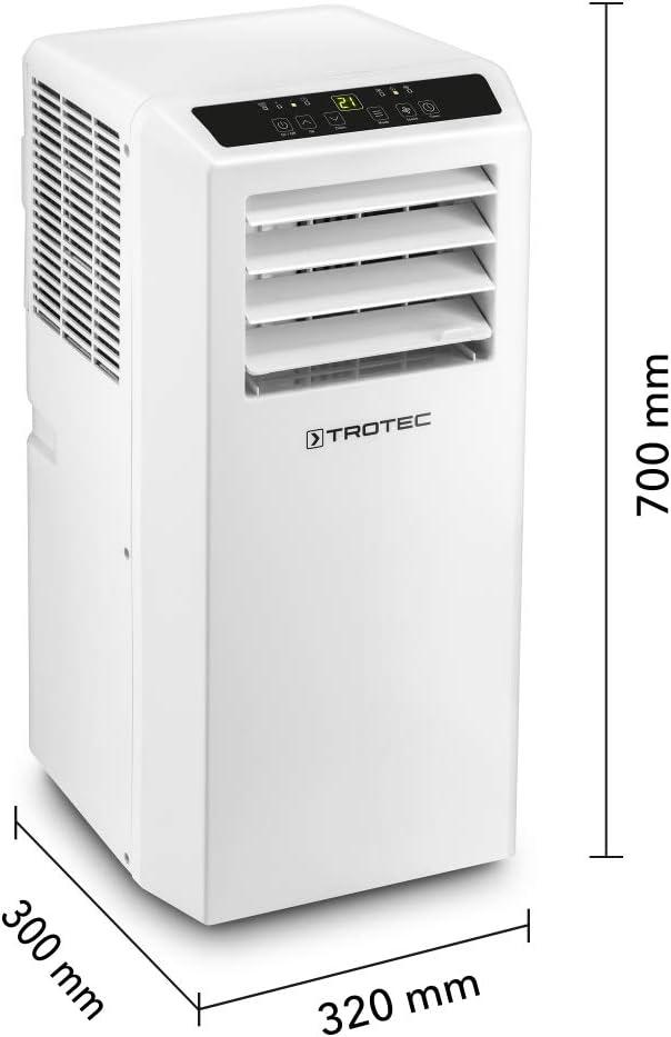 TROTEC Aire Acondicionado portátil Pac 2610 S Incluido AirLock 100: Amazon.es: Hogar