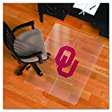 NCAA Oklahoma Sooners Logo Foldable Hard Floor ChairMAT
