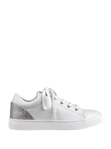GUESS Women's Jollie Low Top Sneakers White