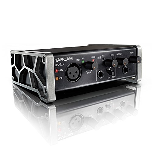1 X 1 Usb (Tascam US-1X2 1-In/2-Out USB Audio & MIDI Interface)