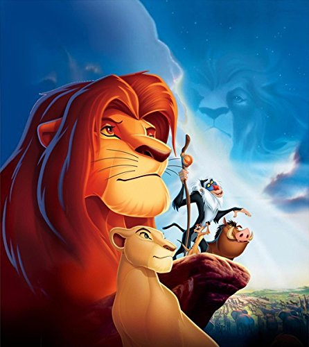 """Prague """"The Lion King"""" Movie Poster 24X36 Inches 1994"""