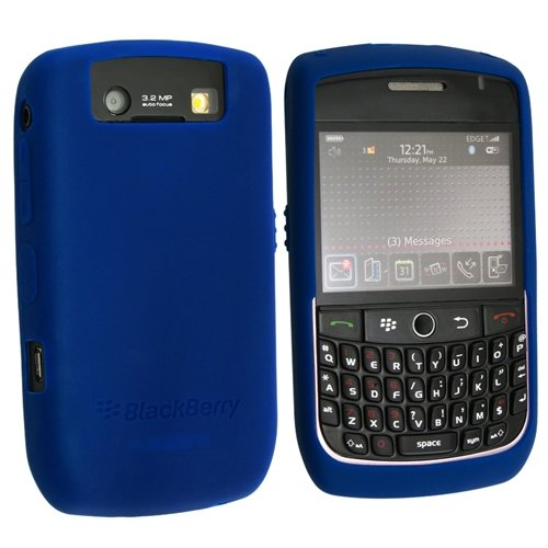 Blackberry HDW-18963-003 Javelin Dark Blue Silicone Skin Case - Blackberry Javelin