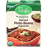 Pacific Natural Foods Refried Pinto Beans Traditional, 13.6 Ounce