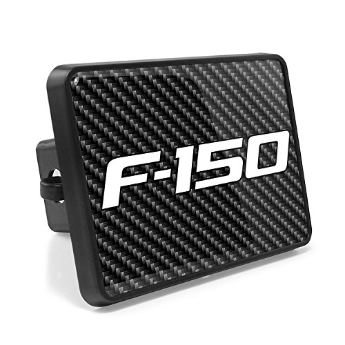 Ford F-150 2009-2014 Carbon Fiber Look UV Graphic Metal Plate on ABS Plastic 2