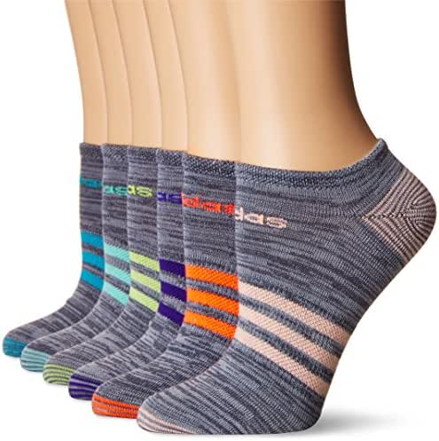 Adidas Women's Superlite No Show Socks (6 Pairs)