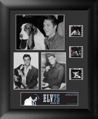 Elvis Presley Film - Trend Setters Elvis Presley 75th Anniversary (S2) 3 Cell Standard Film Cell Artwork