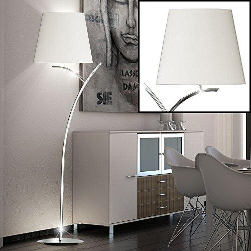 LED Retro Tisch Leuchte Wohn Zimmer RGB Fernbedienung Textil Steh Lampe dimmbar