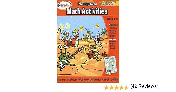Hooked on Math Kindergarten Math Activities Workbook: Hooked On ...
