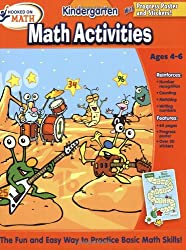 Hooked on Math Kindergarten Math Activities Workbook
