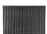 Bonito Deco - Stella Diamond Hanging Room Divider - W 4 Feet/H 8.2 Feet - Polyester - Diamond Pattern - Modern Wall Divider Cordless - Black