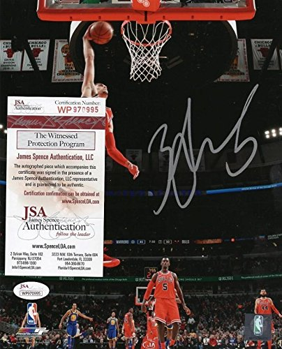 a17f83099 Image Unavailable. Image not available for. Color  Zach LaVine Autographed  ...