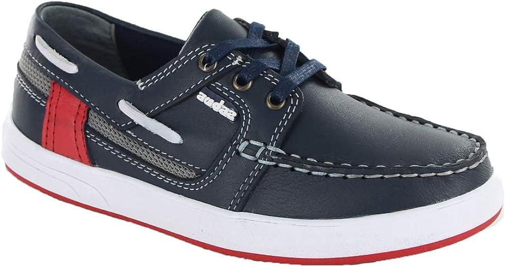 Audaz Kids Blue Boat Shoes (Toddler/Little Kid/Big Kid)