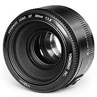 YONGNUO YN50mm F1.8 Lens Large Aperture Auto Focus Lens For Canon EF Mount Rebel DSLR Camera-yn 50mm for Canon (YN50mm Canon)