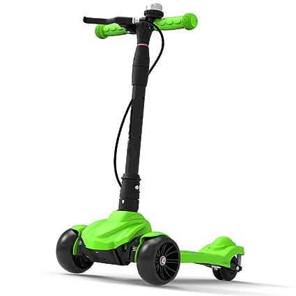 Patinetes Scooter Verde con Handbrak para Regalo de niño, 50 ...
