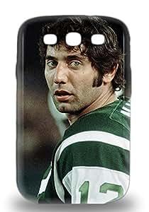 Snap On 3D PC Case Designed For Galaxy S3 NFL New York Jets Joe Namath #12 ( Custom Picture iPhone 6, iPhone 6 PLUS, iPhone 5, iPhone 5S, iPhone 5C, iPhone 4, iPhone 4S,Galaxy S6,Galaxy S5,Galaxy S4,Galaxy S3,Note 3,iPad Mini-Mini 2,iPad Air )