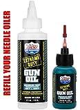 LUCAS Extreme Duty REFILL 4oz Gun Oil 10877 & 1oz Needle Oiler 10875