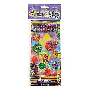 Chanukah - Bolsas de regalo decoradas bolsas de celofán para ...
