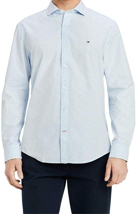 Tommy Hilfiger Dress Shirt Mens Long Sleeve Regular Fit Button Up Professional