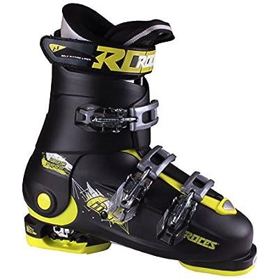 Roces 2018 Idea Adjustable Black/Lime Kid's Ski Boots 22.5-25.5