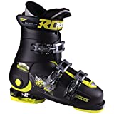 Roces 2018 Idea Adjustable Black/Lime Kid's Ski Boots 22.5-25.5