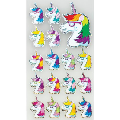 Sticko Scrapbooking Stickers, Sweet Unicorns ()