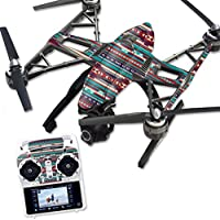 Skin For Yuneec Q500 & Q500+ Drone – Southwest Stripes | MightySkins Protective, Durable, and Unique Vinyl Decal wrap cover | Easy To Apply, Remove, and Change Styles | Made in the USA