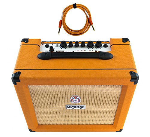 Orange Crush 35RT 1x10'' 35-Watt Combo with Reverb and Tuner Free Cable Bundle by Orange