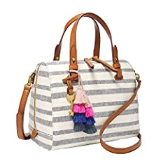 This pvc satchel boasts 2 slide pockets, 1 zipper pocket and an adjustable, detachable shoulder strap. Will be shipped separately from other products.